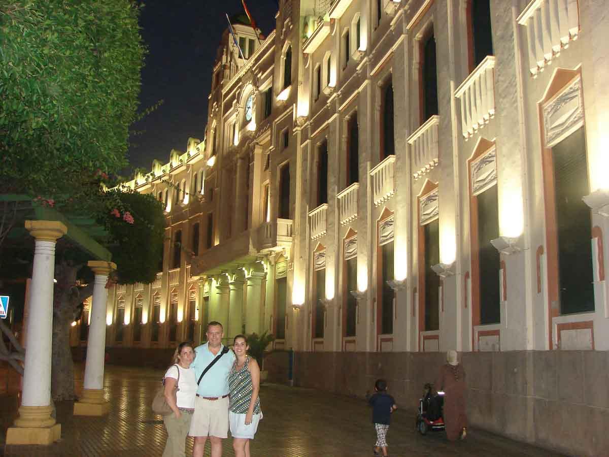 El Palacio de la Asamblea de Melilla