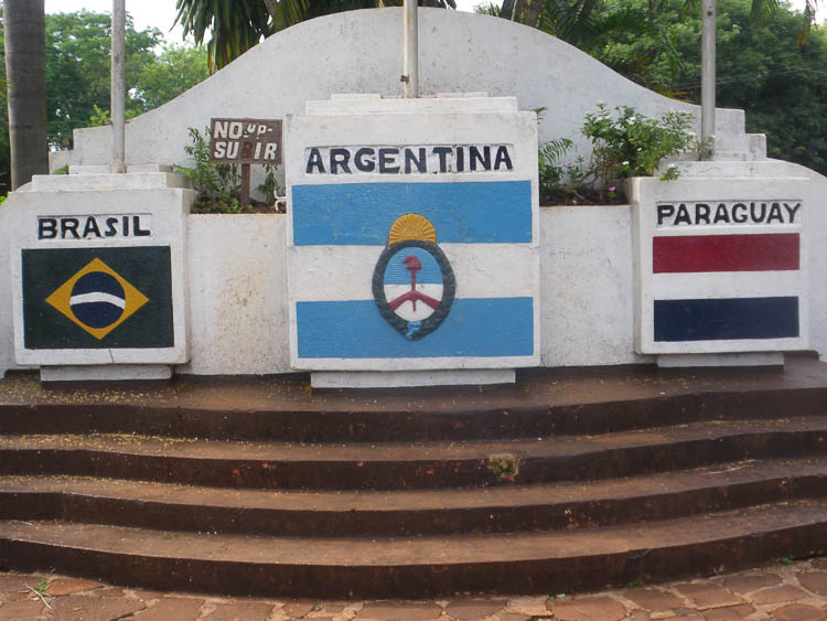 Triple frontera Paraguay