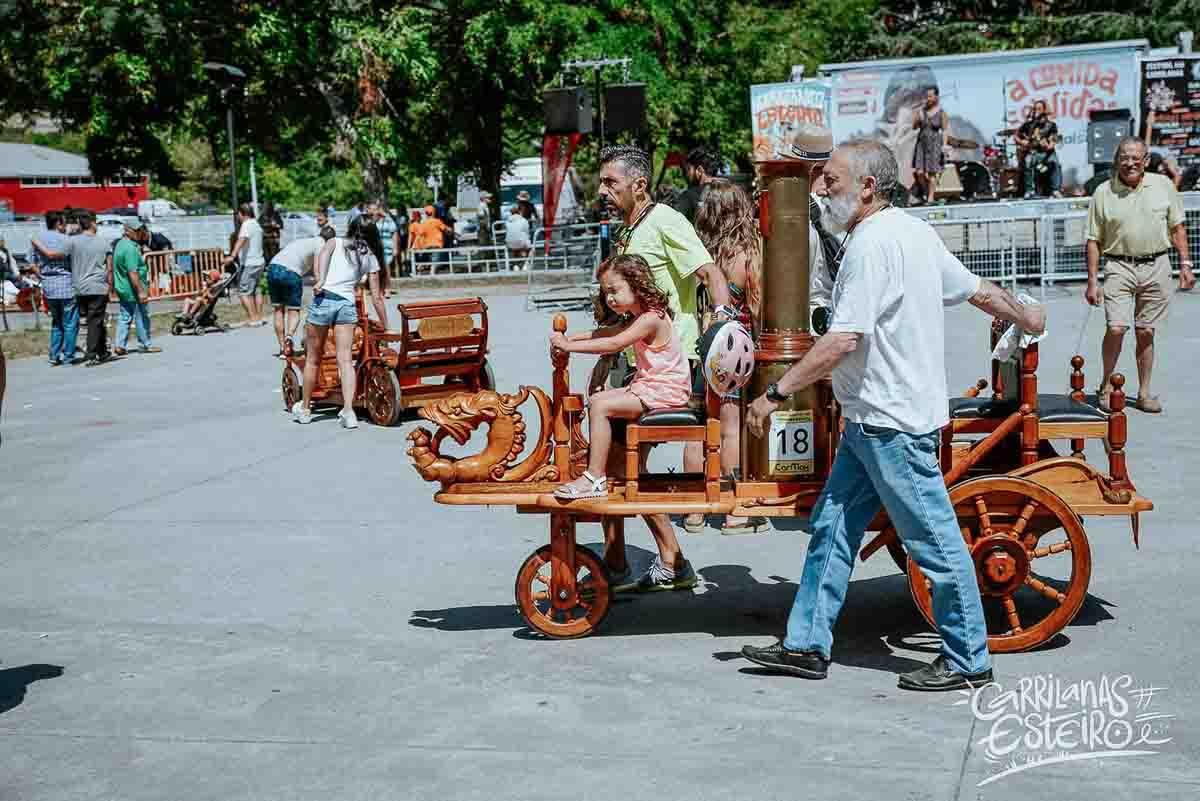 Que hacer en Esteiro: ver carreras de carrilanas