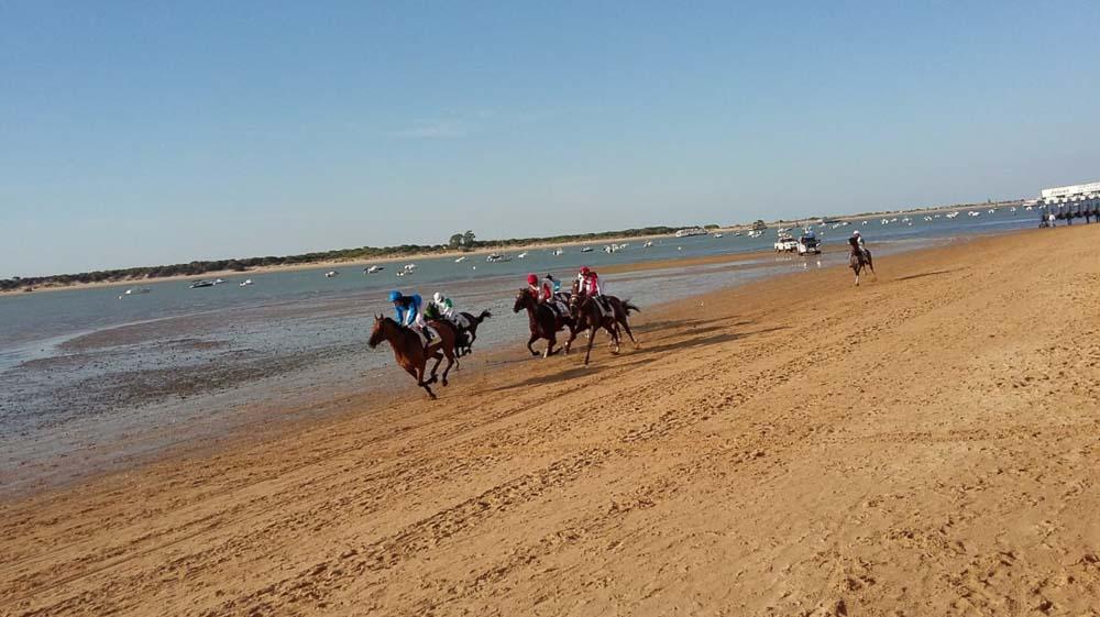 Carreras de caballo de Sanlucar