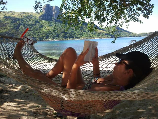 Disfrutando del paraiso