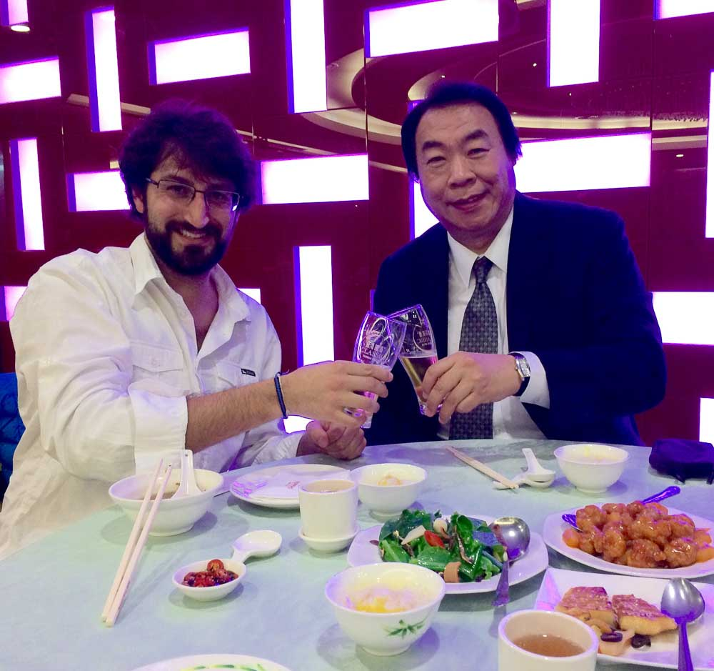 Comer en Taiwan