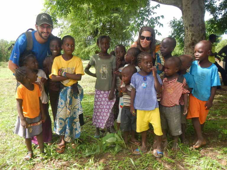 Niños de Senegal