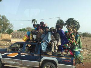 Como moverse por Senegal
