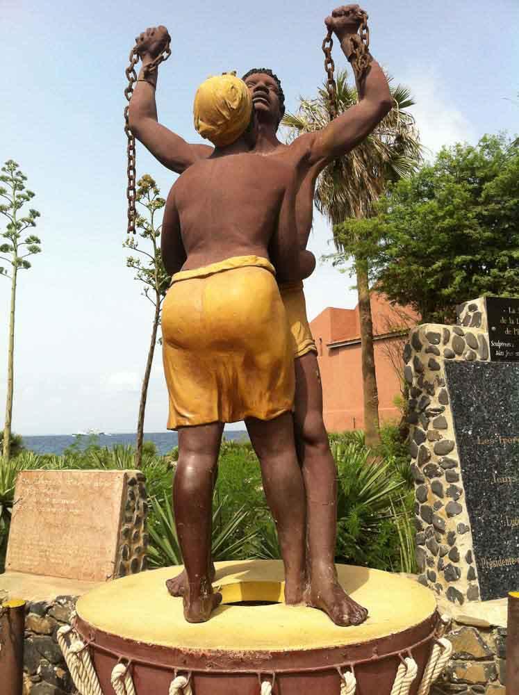 Estatua Isla de Gorea