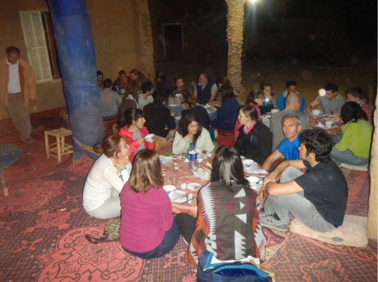 Campamento en Marruecos