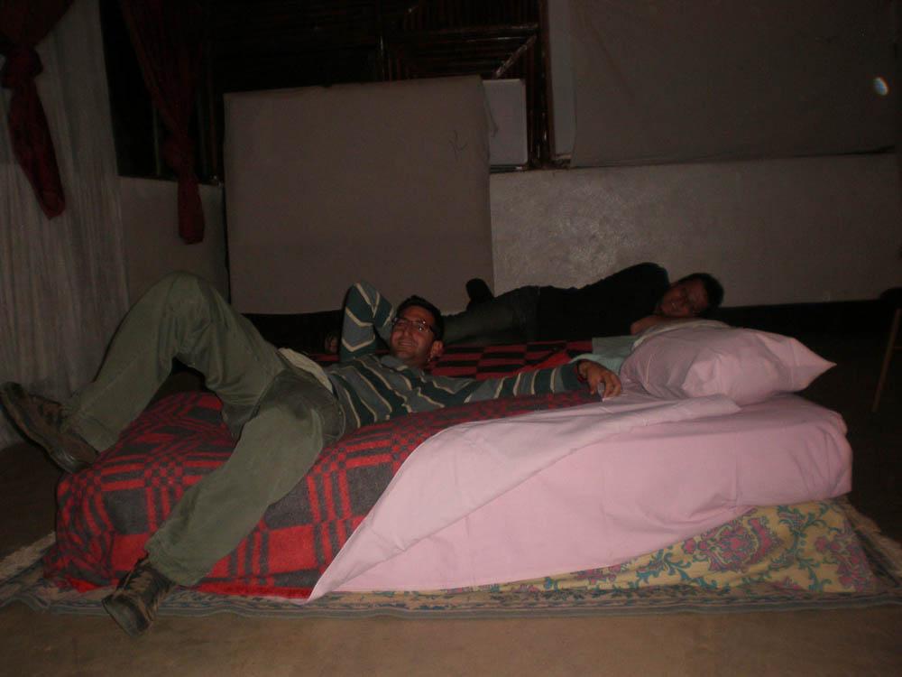 Dormir en Etiopía