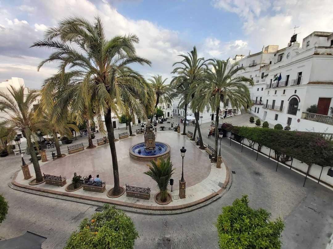 Plaza de España de Vejer