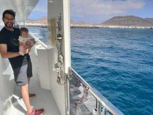 Barco a La Graciosa desde Lanzarote